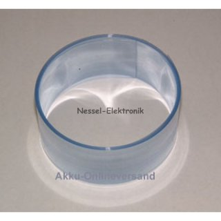 SR 12 / 20x0.08mm / transparent blaustich
